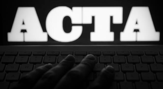 Fala protestów przeciwko ACTA – polski blackout
