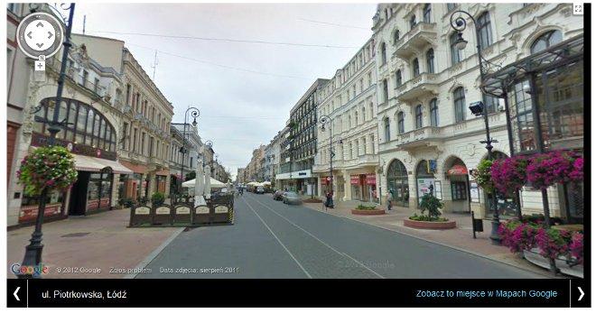 Pierwsze polskie miejsce na Street View w Mapach Google