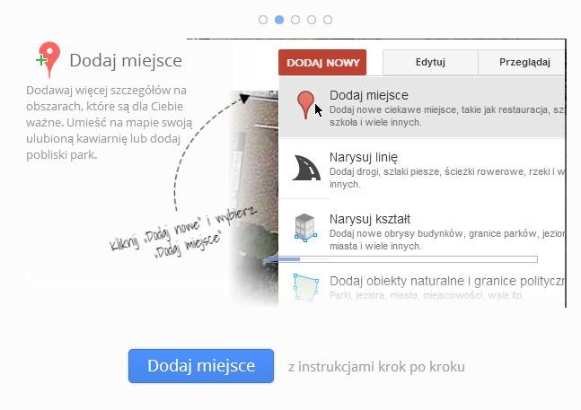 Aktualizuj i poprawiaj mapy Google