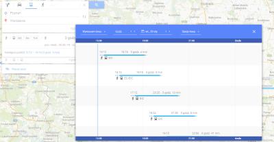 Rozkład pociągów PKP od teraz na Mapach Google