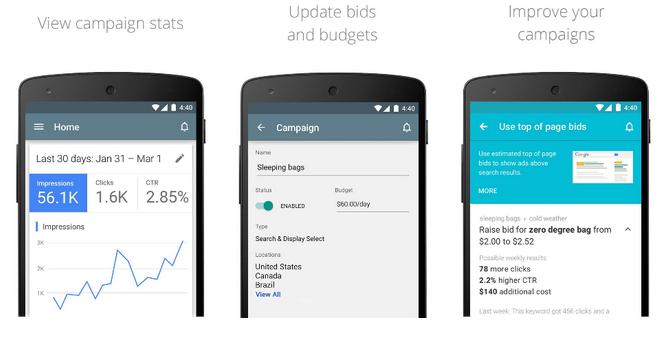 Jest już dostępna aplikacja mobilna dla AdWords