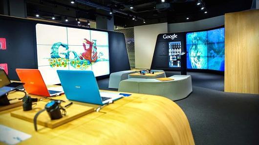 Google otwiera sklep offline