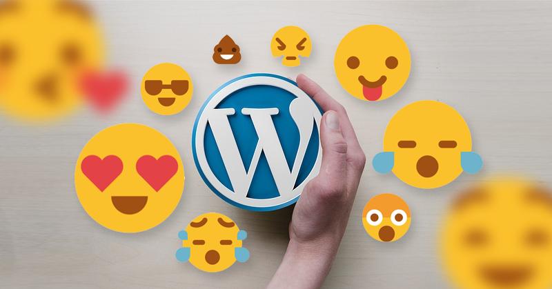 Emoji – I❤️use📱✏️🔌🔨📣 WordPress – Nowe funkcjonalności