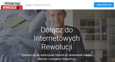 Internetowe Rewolucje Google, czyli program dla przedsiębiorców