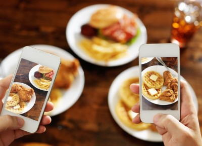 Zdjęcie jedzenia w Mapach Google?