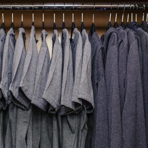 pokoj z garderoba - Marka Zuckerberga