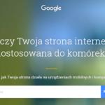Google wprowadza nowy test wersji mobilnych stron