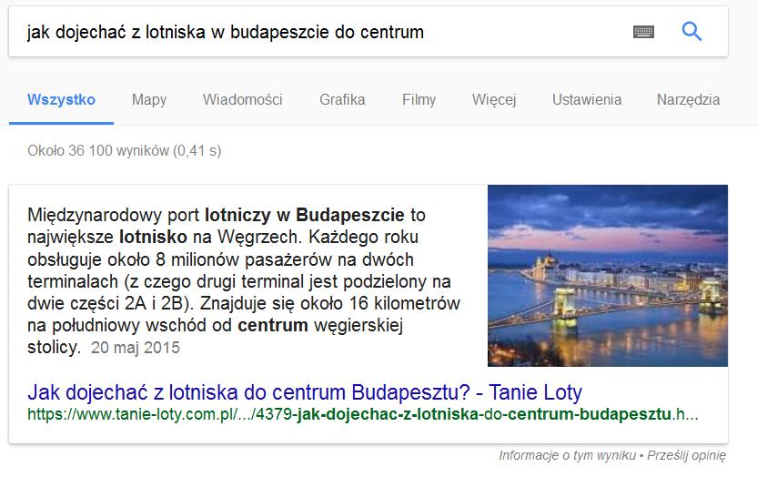 Direct Answer - jak dojechać z lotniska w Budapeszcie do centrum