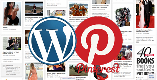 Pinterest a WordPress