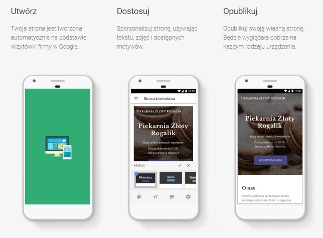 Tworzenie strony internetowej w trzech krokach