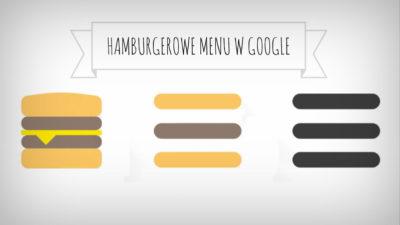 Nowe menu Google dla urządzeń mobilnych