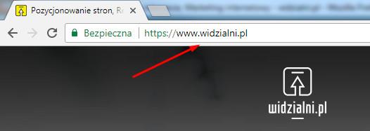 Domena internetowa Widzialni.pl