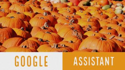 Google Assistant gotowy na Halloween!