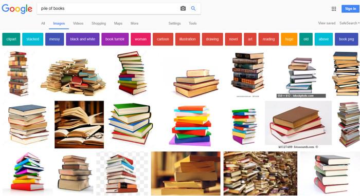 Wyszukiwanie w Google Grafika