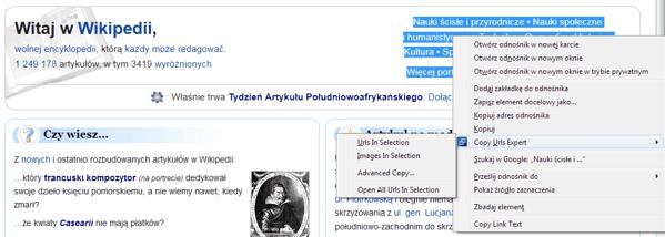 Copy URL Expert