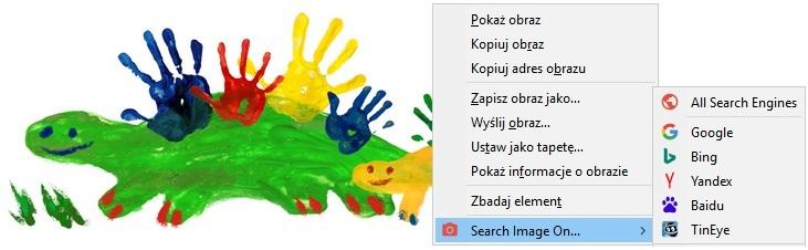 Wyszukiwanie obrazów w Google Grafika w przeglądarce Firefox dla doodle (fot. Dzień Mamy)