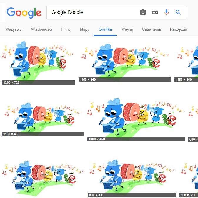 Różne rozmiary rozdzielczości dla przykładowej grafiki (fot. Dzień Dziecka) 1280x720, 1150x460, 1000x460, 800x331 pix