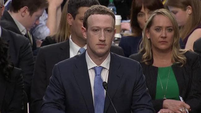 Przesłuchanie Marka Zuckerberga w sprawie afery Facebook-Cambridge Analytica