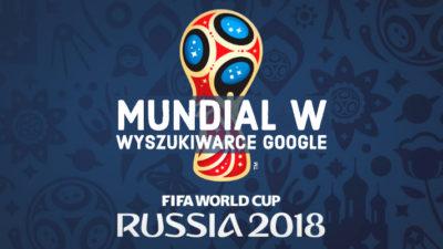 Mistrzostwa świata w Rosji w wyszukiwarce Google