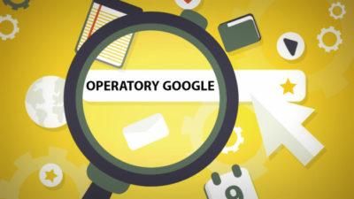 Wyszukiwanie z użyciem operatora – Google site: