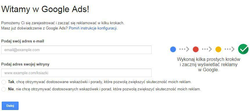 Konto w Google Ads