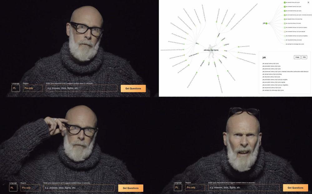 Answer the public - wizualne narzędzie badania słów kluczowych do tworzenia treści