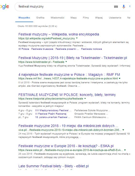 Pozycjonowanie strony internetowej