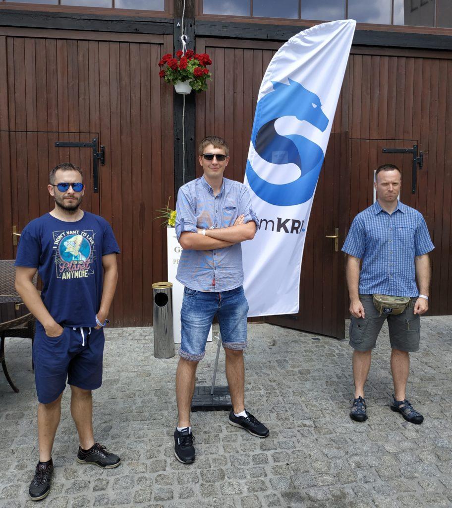 Zespół Widzialni.pl na semKRK #12 BIG