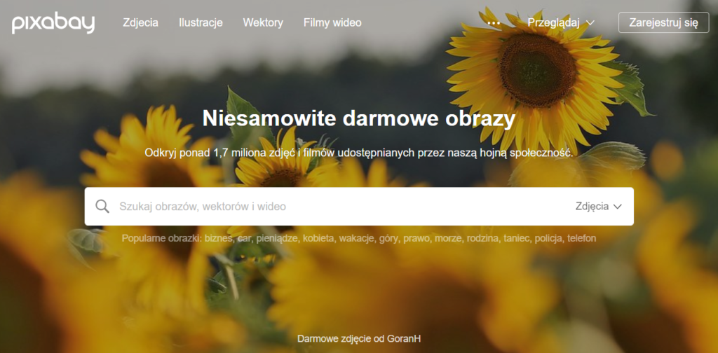 Strona główna Pixabay