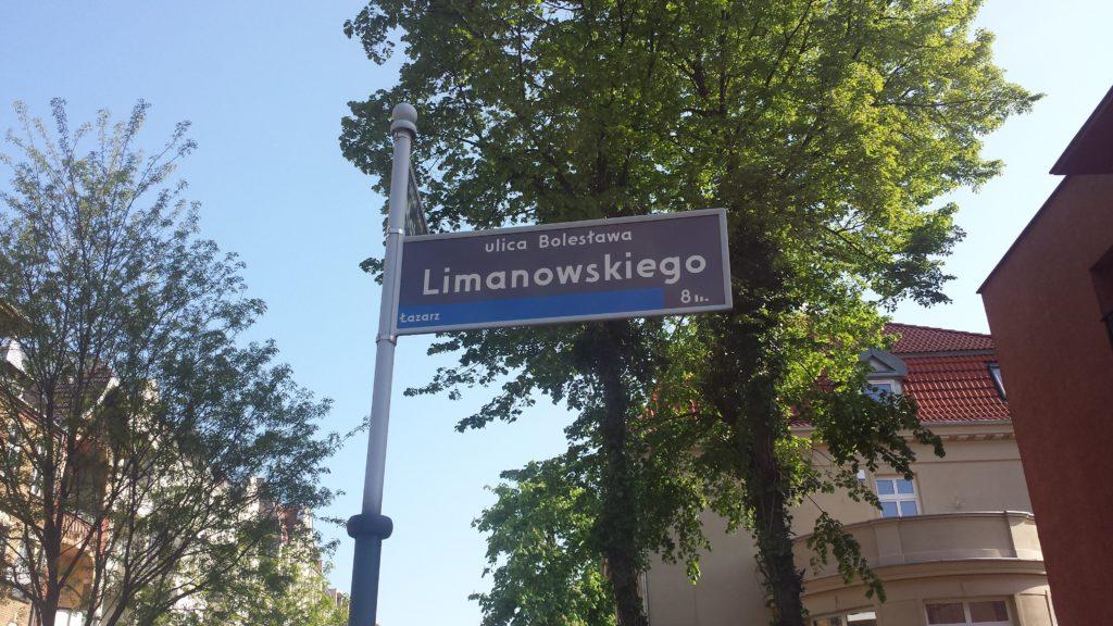 Tabliczki z nazwami ulic w Poznaniu