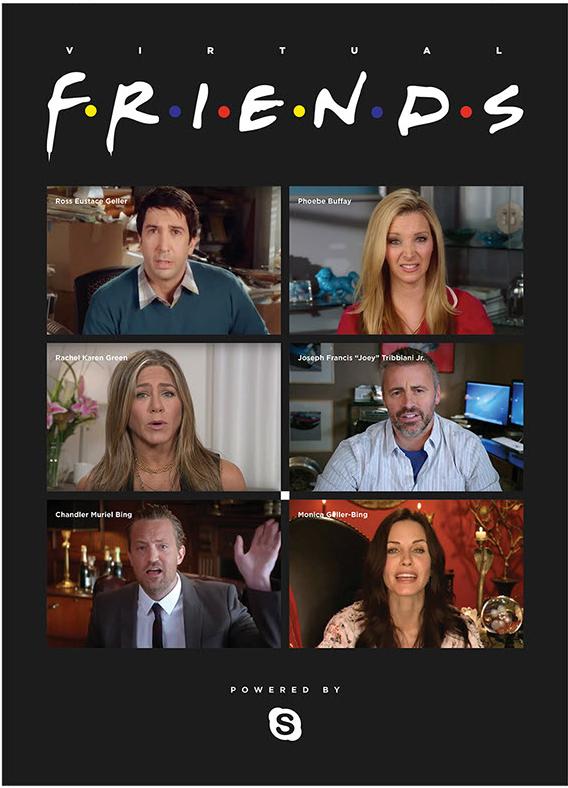 Friends - czat online bohaterów Przyjaciół
