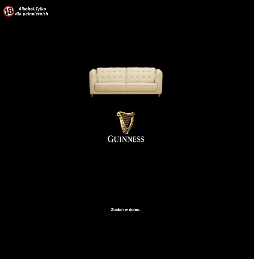 Guinness w czasach zarazy