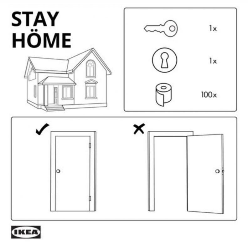 Ikea - instrukcja Stay home