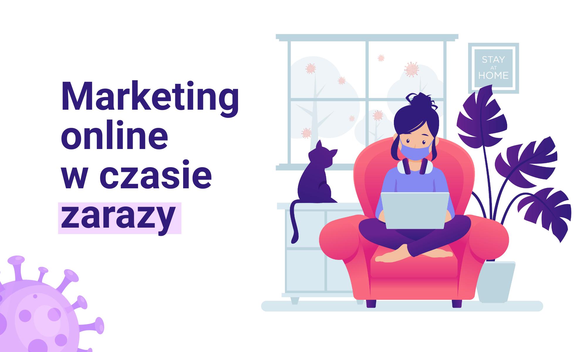 Marketing online w czasach zarazy
