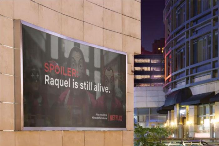 Netflix - reklama w czasach koronawirusa