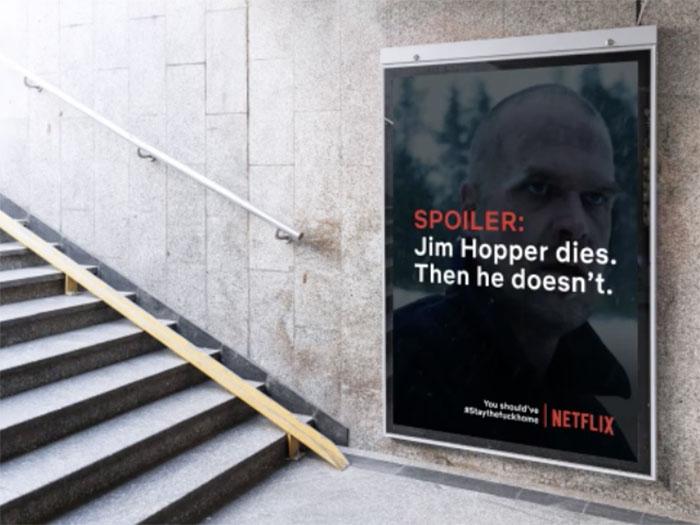 Netflix - reklama w czasach koronawirusa 2