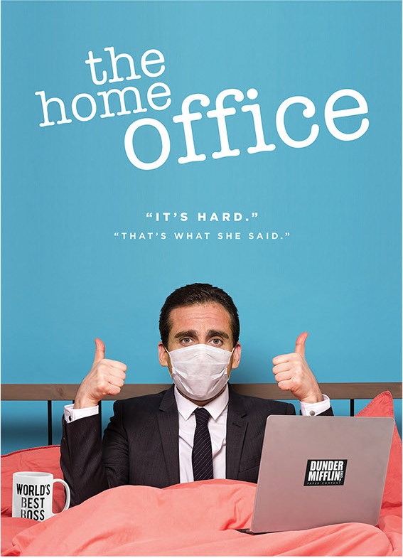The home office - plakat serialu