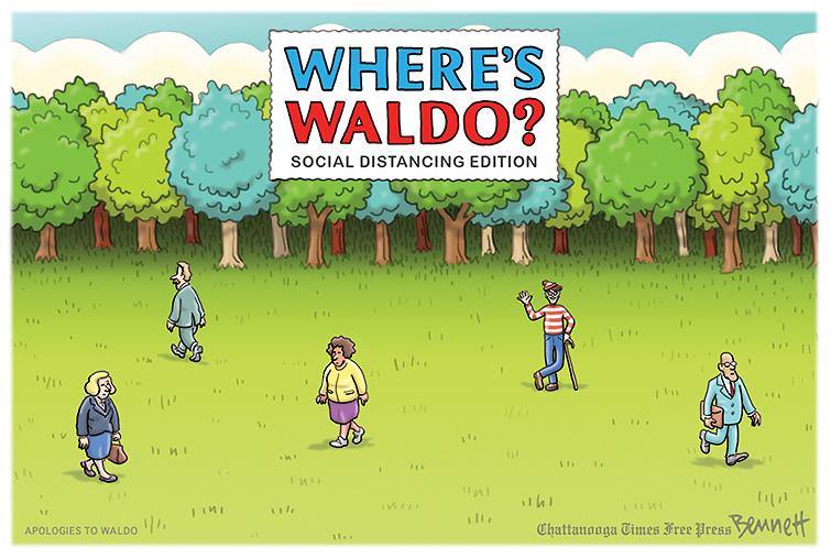 Gdzie jest Wally? w czasach koronawirusa