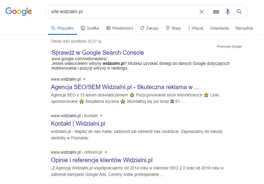 Analiza konkurencji w Google