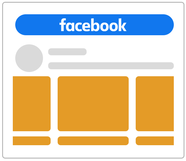 Reklama na Facebooku jako karuzela