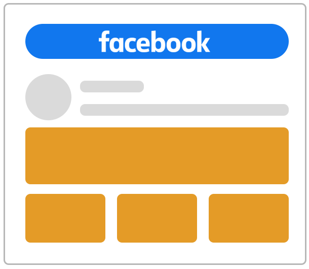 Reklama na Facebooku jako kolekcja