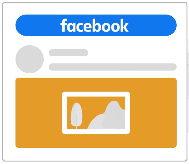 Reklama na Facebooku jako pojedyncza grafika